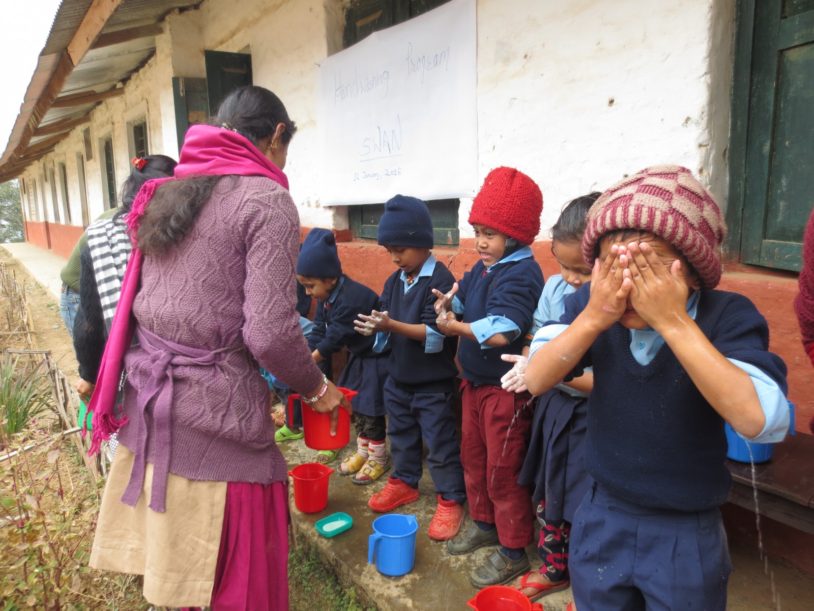 Hand Washing Program