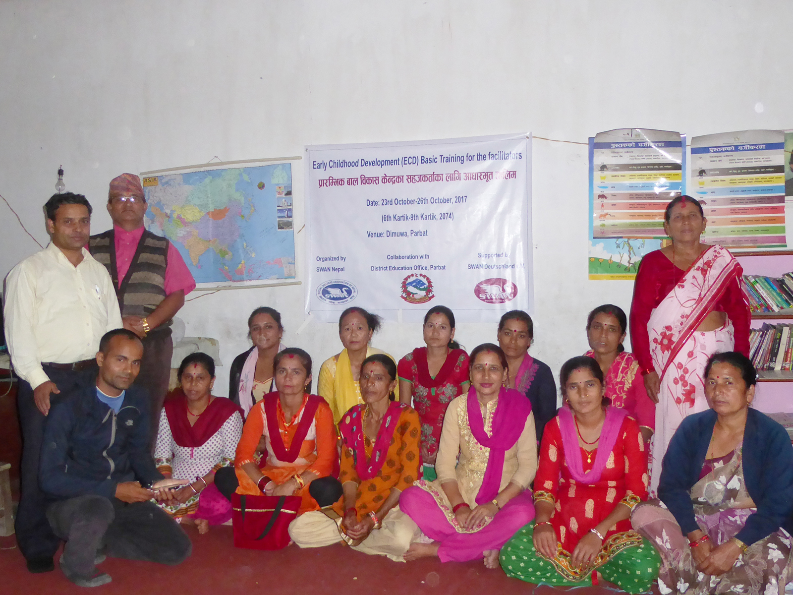 ECD Training in Parbat